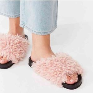 Urban Outfitters Pink Slides